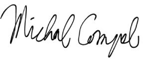 Nepárne čísla v nadpisoch Michal Compel