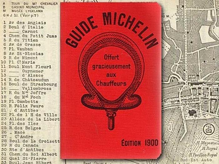 Guide Michelin Edition 1900
